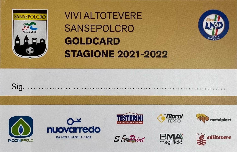 Abbonamenti: il Sansepolcro lancia la GoldCard! Da oggi è possibile sottoscrivere l'abbonamento alle partite casalinghe del Borgo.
